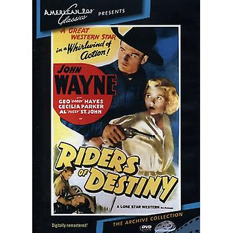 Riders of Destiny (1933) [DVD] USA import