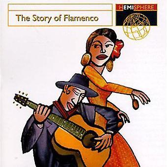 Hémisphère artistes - importation des USA de l'histoire du Flamenco [CD]