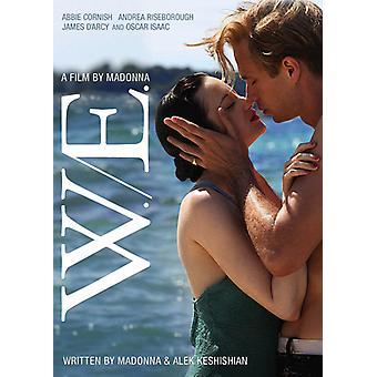 W.E. [DVD] USA import