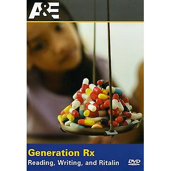 Generation Rx-Reading Writing & Ritalin [DVD] USA import
