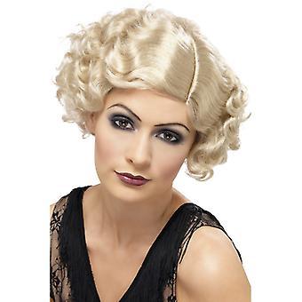 20 flirty flapper wig, blonde