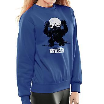 Bowser Unchained Super Mario Bros Women's Sweatshirt