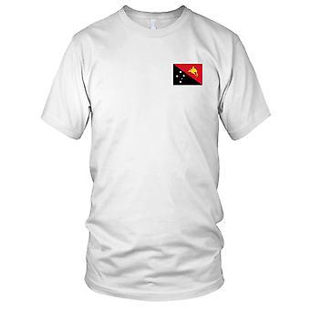 Drapeau National du pays de Papouasie Nouvelle-Guinée - Logo - brodé 100 % coton T-Shirt Ladies T Shirt