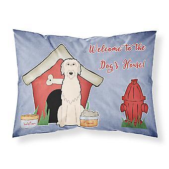 犬の家コレクション生地アイリッシュ ・ ウルフハウンド標準的な枕カバー
