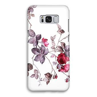 Samsung Galaxy S8 volledige Print geval (Glossy) - mooie bloemen