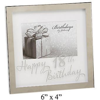 Widdop Birthdays By Juliana Mirror Happy 18th Birthday Print Box Photo Frame