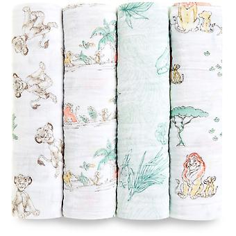 aden + anais Disney Classic Swaddle 4 Pack
