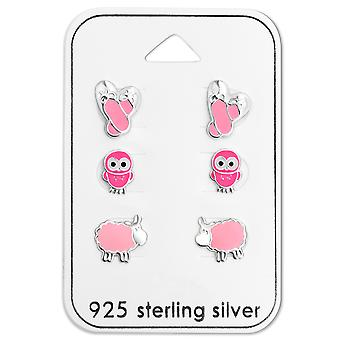Pink - 925 Sterling Silver Sets - W28473X