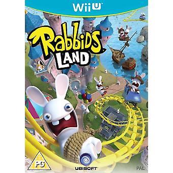 Rabbids Land (Nintendo Wii U) - New