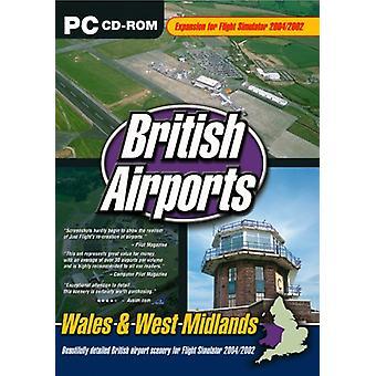 British Airports Vol. 5 Wales West Midlands - Rozszerzenie symulatora lotu 20042002 - Nowość