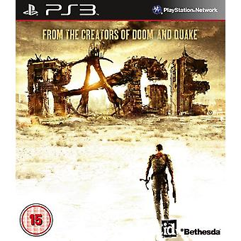 RAGE (PS3) - Usine scellée