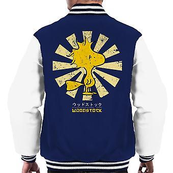 Peanuts Woodstock Retro Japanese Men's Varsity Jacket