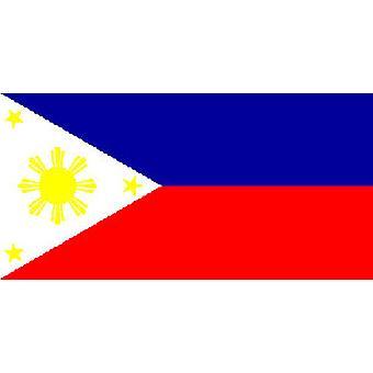 Filippiinit lippu 5 jalkaa x 3 ft jossa ripustamista varten