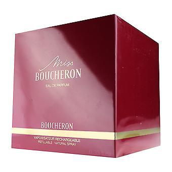 Boucheron Miss Boucheron Eau De Parfum recargable Natural Spray 10ml nuevo en caja