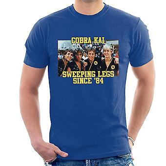 Cobra Kai Sweeping Since 84 Men's T-Shirt