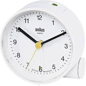 Braun 66004 Quarz Wecker weiß Alarm Zeiten 1