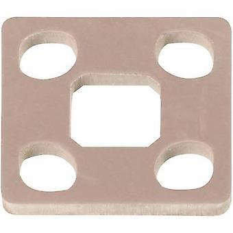 Hirschmann 730 233-002 GSSA 300-5 NBR Inbouwstekker voor schroefdraadverbinding en omhullen. Aantal pins: 2 + PE