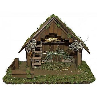 Crib SANAA wooden crib Nativity Christmas Nativity stable