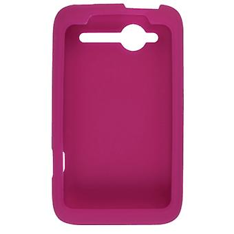 5 Pack -OEM HTC Silicone Case for HTC Wildfire 6225 CDMA - Raspberry