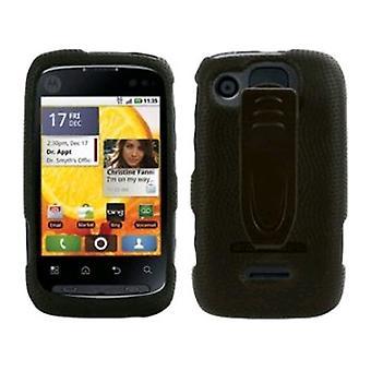 Kehon käsine Snap kannessa vyöpidike Motorola Citrus WX445 - musta