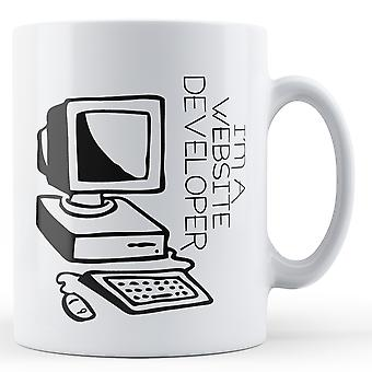 Decorative I'm A Website Developer - Printed Mug