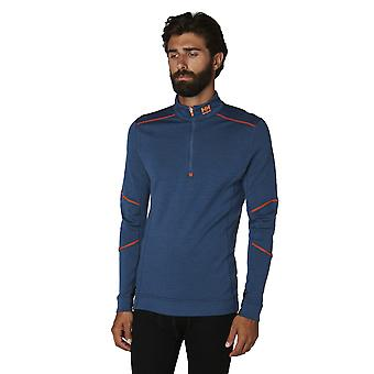 Helly Hansen Mens Lifa Merino halv Zip Workwear Base lag