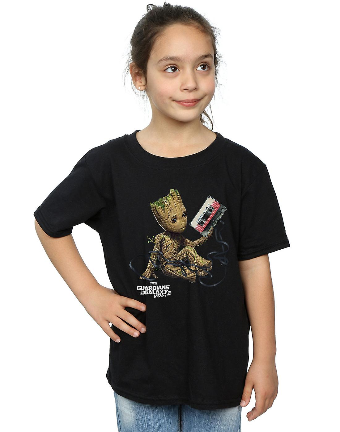 Marvel Girls Guardians Of The Galaxy Groot Tape T-Shirt