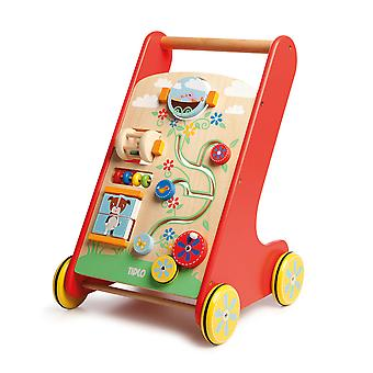 Tidlo Wooden Educational Activity Walker Toys Mobility