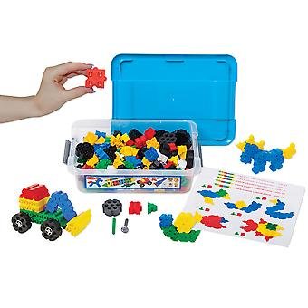 Morphun Junior Starter Double Table Building Brick Set