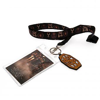 Fantastic Beasts And Where To Find Them Lanyard And Keyring Set