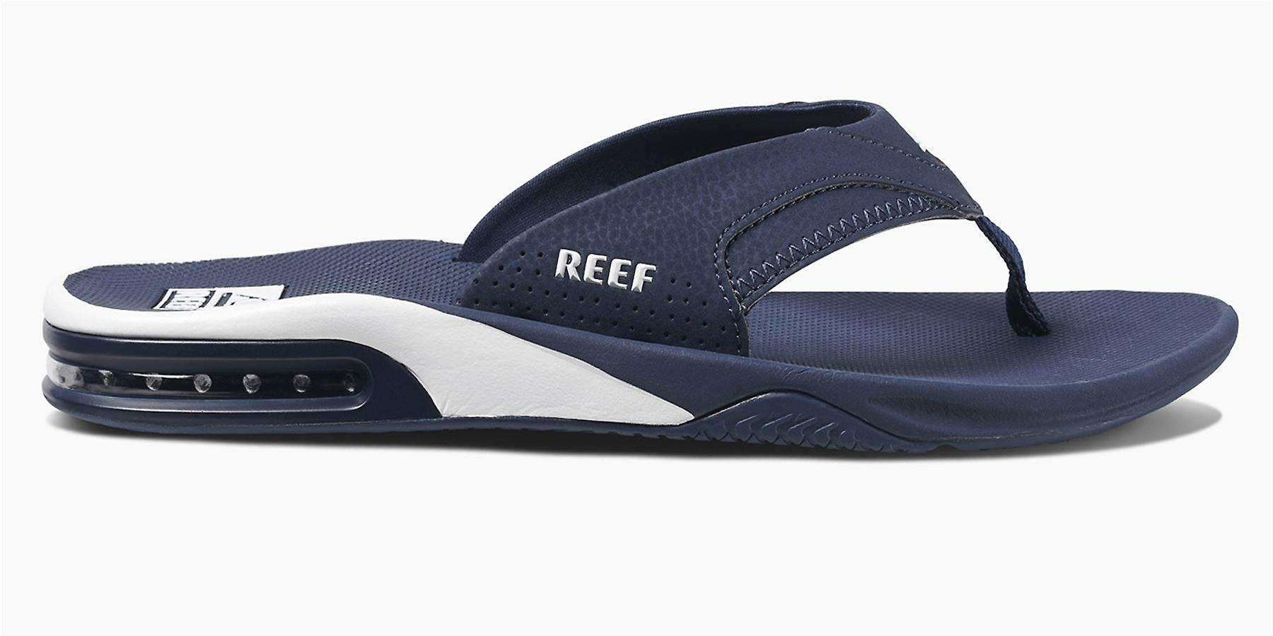 Reef Mens Sandals ~ Fanning navy/white
