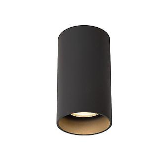 Lucide Delto cilindro moderno grigio alluminio soffitto luce Spot