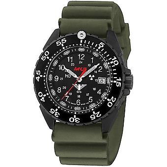 KHS horloges mens watch enforcer Zwarte titanium KHS. ENFBT. DOEN
