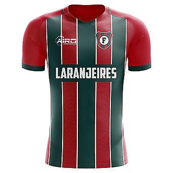 2020-2021 Fluminense Home Concept Jalkapallopaita
