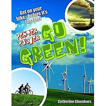 Wywierać - Go Green: W wieku 8-9, średnia czytelników (białe wilki Non Fiction)