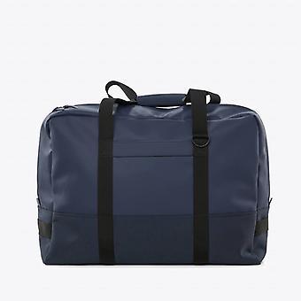 Lluvias de equipaje bolso azul