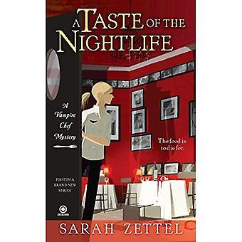Un avant-goût de la vie nocturne: un mystère de Vampire Chef