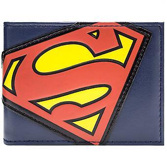 DC Comics Superman traje insignia ID y tarjeta de Bi-Fold Wallet