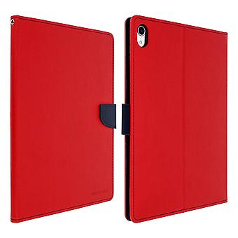 Case for iPad Pro 11 Folio Case Cards-Holder Support Function Mercury - red