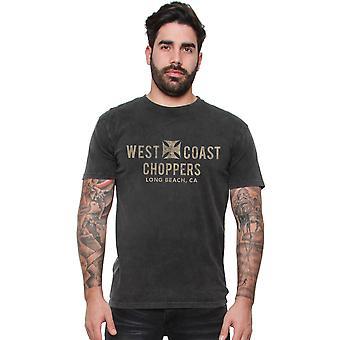 West Coast choppers mens T-Shirt Eagle vintage
