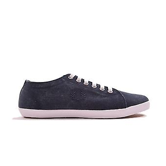 Fred Perry Kingston Overdyed Canvas Plimsolls B1191-608