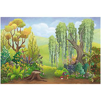 Stage/Theater Backdrop-Wald