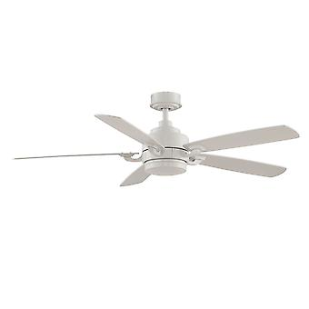 """Ceiling fan THE BENITO 132cm / 52"""" White with remote"""