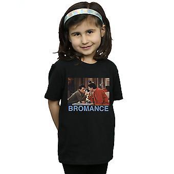 Priatelia dievčatá Joey a Ross Bromance T-shirt