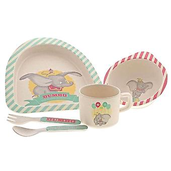 Dumbo Bamboo 5-Piece Organic Dinner Set