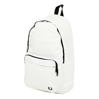 Fred Perry Twin Tipped Backpack Rucksack Bag - L2201-129 - Snow White