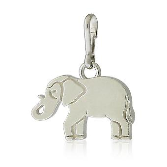 Alex y Ani elefante encanto - plata - CS18E05S