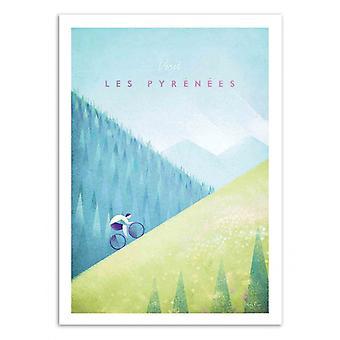 Art-Poster - Visit Les Pyrénées - Henry Rivers