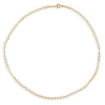 Plated Heart-plated Diamond 19cm
