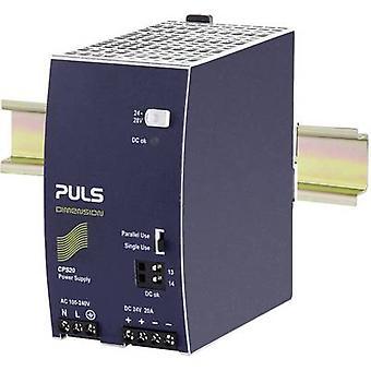 PULS DIMENSION Rail mounted PSU (DIN) 24 V DC 20 A 480 W 1 x